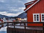 Rorbuer, casette rosse delle isole lofoten