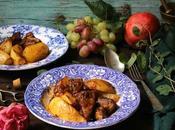 maiale mele cotogne patate forno chirino kydonia patates fourno