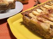 Crostata integrale alle mele crema frangipane (senza burro)