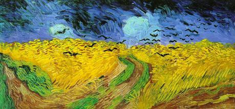 Campo di grano con corvi, Vincent van Gogh