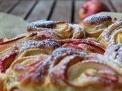 Torta brioche rose mela (tre anni