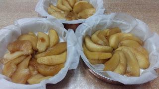 Mele meringate in forno per il Menù Lib(e)ro  (con amaretti e crema pasticciera)