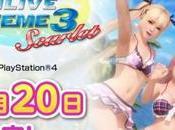 Dead Alive Xtreme Scarlet Nintendo Switch annunciato Notizia