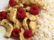 Pollo curry lamponi riso Aroma