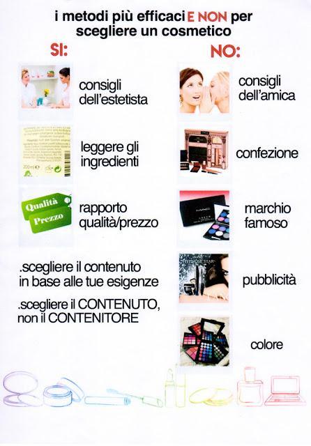 Come scegliere i cosmetici