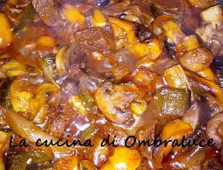 Spezzatino di manzo con verdure al forno