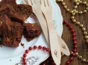 Brownies cioccolato pandoro riciclato arachidi