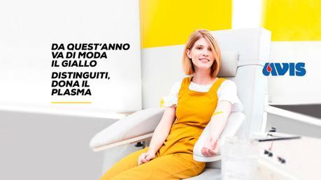 La campagna di AVIS #GIALLOPLASMA vi da appuntamento il 15 dicembre 2018 in Piazza del Plebiscito a Napoli per comporre un Alberto di Natale Vivente. Nell'immagine una delle foto della campagna di sensibilizzazione alla donazione di plasma