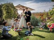matrimonio immersi verde Murano giardino Villa Lina