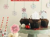 Party Natale Inviti, menu, topper ghirlanda scaricare vostra festa natalizia!