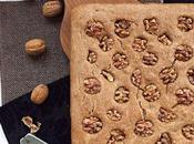 Focaccia biologica alle noci farina integrale lievito madre