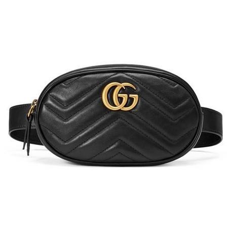 Borse Gucci 2018: la nuova it bag è la Marmont.La maison l'ha lanciata sulla passerella Cruise 2018.