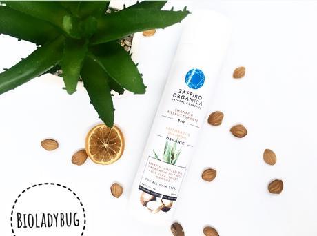 RECENSIONE-Shampoo Ristrutturante Bio con Cheratina Vegetale Senza Solfati -ZAFFIRO ORGANICA