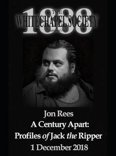 Whitechapel Society 1888 presents Jon Rees