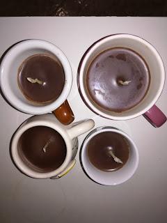 candele diy..... al cioccolato