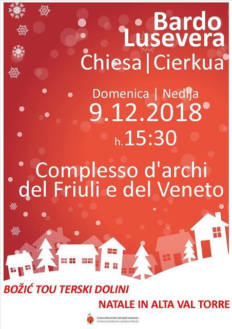 Natale-Božič  in Benecia