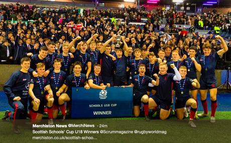 Grassroots: George Watson's U16 e Merchiston U18 vincono le Schools Cup Finals 2018