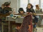 sovietpostcards:Irina Shevandronova Rural Library...