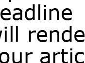 Scrivere titolo: tipi headlines tuoi testi