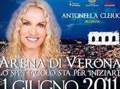 ASCOLTI spettacolo ARENA VERONA 2011 Antonella Clerici vince serata (4,2 mln). Crolla serie LICEALI superata L'HA VISTO?
