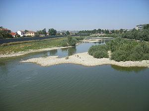 Tanaro River at Alessandria