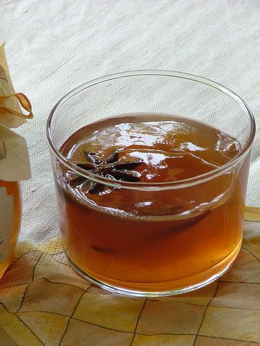 apple jelly with star anise