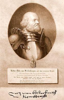 La storia di Götz von Berlichingen, il cavaliere con la mano di ferro