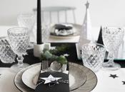 tavola Natale black white