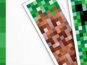 Libri amanti Minecraft segnalibri scaricabili