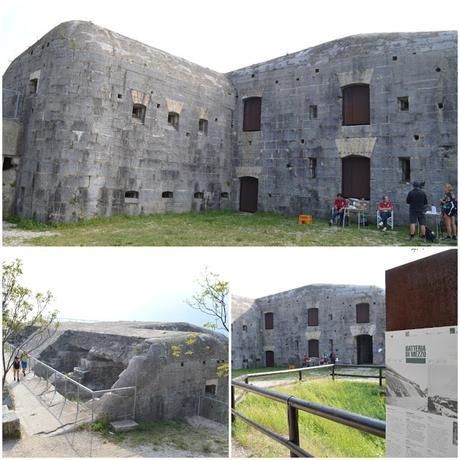 Escursione ai forti della Grande Guerra sul Monte Brione Garda Trentino