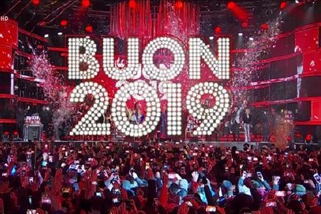 """ASCOLTI TV LUNEDI' 31 DICEMBRE: grandi ascolti per """"L'Anno che Verrà"""" su Rai1 che surclassa """"Capodanno in musica"""" su Canale5"""