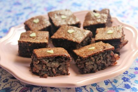 Brownies di riso