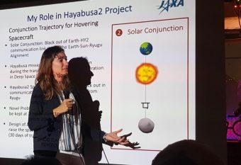 Stefania Soldini alla guida di Hayabusa2