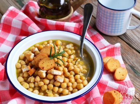 Zuppa di ceci, ricetta della nonna