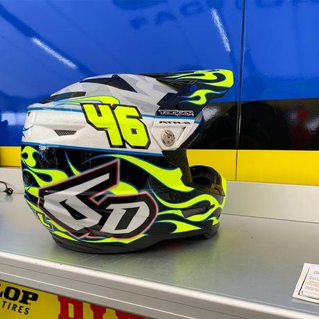6D Helmets ATR-2 J.Hill 2019 by Tagger Designs