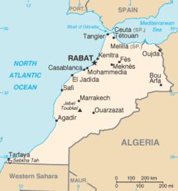 Risultati immagini per marocco cartina