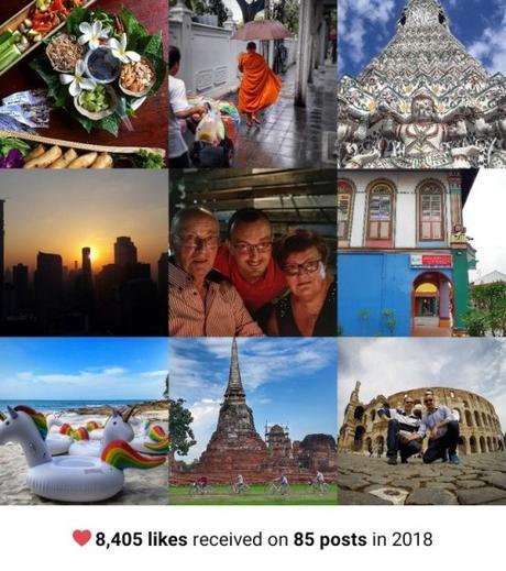 2018BestNine - auguri di Capodanno da Bangkok[#2018BestNine su Instagram]Tempo di bilanci e...