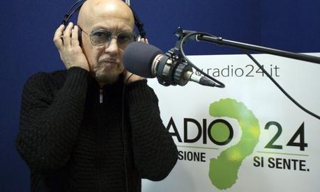 Enrico Ruggeri in 'Ciak si vola' con Il Falco e il Gabbiano. Dal 9 gennaio 2019 ogni mercoledì alle 15.00 su Radio 24