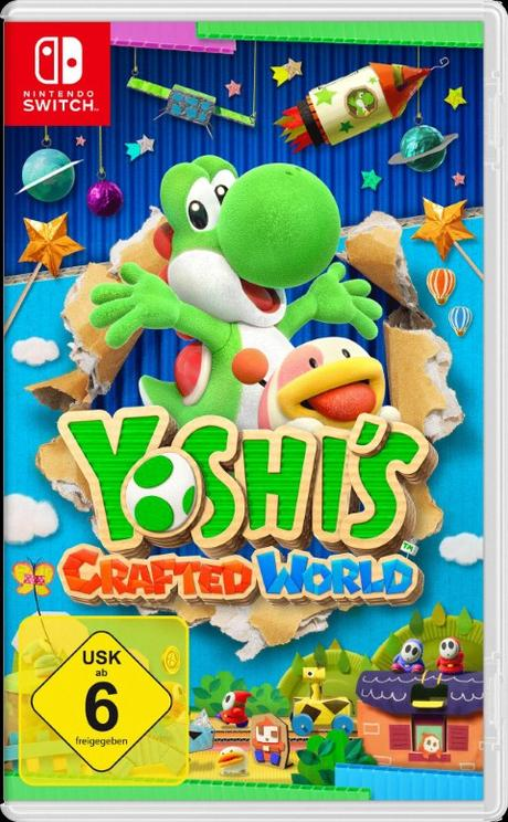 Yoshi Crafted World arriva su Switch a fine marzo