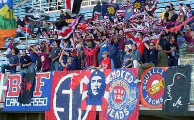 Curva Nord Campobasso: 'Basta divieti, il calcio è del popolo!'