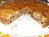 Torta rustica noci uvetta cioccolato