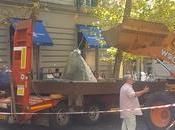 fontana Itaca tornerà posto: stata rimossa quattro mesi