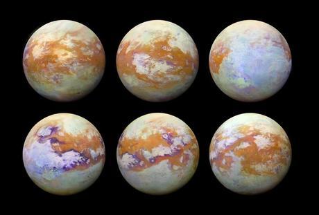 L'atmosfera di Titano all'infrarosso