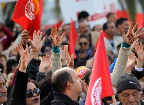 Tunisia:sciopero dei lavoratori del settore pubblico