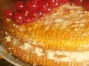 Saffron layer cake. versione gluten free Redone Gennaio.