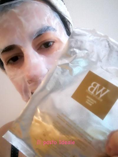 Maschera viso in bio cellulosa World of Beauty