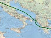Viaggio attraverso l'Impero Romano treno, traghetto