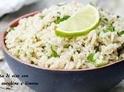 Insalata riso tonno, zucchine limone