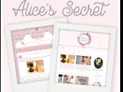 """Nuovo template """"Alice's Secret"""" Rita"""