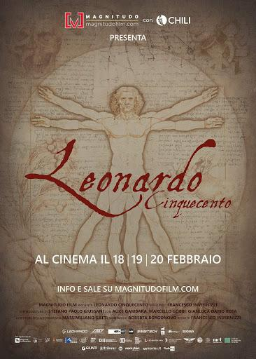 𝗟𝗲𝗼𝗻𝗮𝗿𝗱𝗼 𝗖𝗶𝗻𝗾𝘂𝗲𝗰𝗲𝗻𝘁𝗼, un documentario in 8k dedicato al genio universale del Rinascimento ti aspetta al cinema.